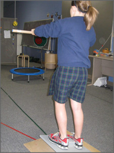 "Vision therapy ""ball games"""