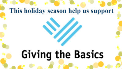 Support Giving the Basics this holiday season!